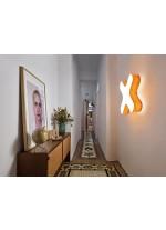 Aplique de pared y techo de madera natural regulable bluethooth/control remoto en 11 colores - X Club - LZF