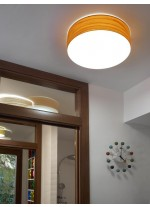Aplique de pared de madera natural en 11 colores y 3 tamaños regulable Led  - Gea - LZF