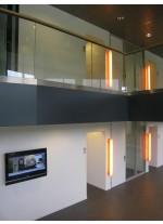 Aplique de pared y techo de madera natural en 11 colores regulable LED control remoto - I Club - LZF