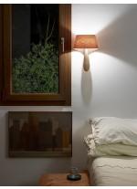 Aplique de pared de madera natural en 11 colores - Air - LZF