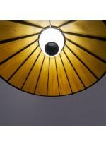 Lámpara de suspensión de madera natural en 11 colores y 2 tamaños regulable Led Bluethooth - Banga - LZF