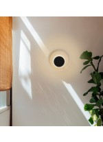 Aplique de pared de PMMA Ø 40 cm en 3 acabados con tecnología LED 2700K – Elisa – Milan