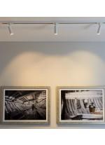 Foco de techo de carril LED Ø 4cm y 14,1 cm de alto en 2 acabados orientable y regulable 2700K – Haul – Milan