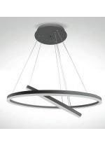 Lámpara colgante en 2 colores LED 3000K – Nelia – IDP Lampshades
