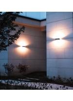 Aplique de pared de exterior IP54 LED 3000K - Rhin - Dopo - Novolux