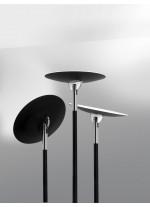 Pie de salón LED con lector en acero disponible en diferentes acabados – Lux – Pujol Iluminación