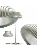 Lámpara de pie en oro o plata 162 cm - Peggy - IDP Lampshades