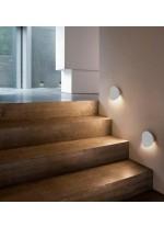 Aplique de pared de metal LED en 5 acabados y 2 tamaños 3000K – Dot – Plussmi