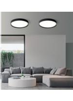 Aplique de techo moderno en 2 colores y 2 tamaños - Minsk - ACB Iluminación