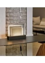 Lámpara de mesa LED regulable de madera natural – Skyline – Lzf