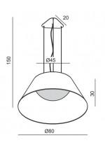 Lámpara de Techo - Sonora - El Torrent