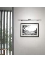Aplique LED de cuadro moderno en acero 3000K - Thin - Pujol Iluminación