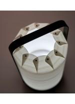 Lámpara de mesa portatil LED de madera en 6 acabados regulable en intensidad– Mini Chou – LZF