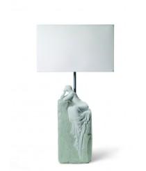 Lámpara de mesa de porcelana – Mujer contemplativa II – Lladró