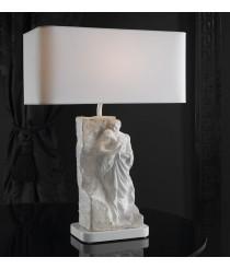 Lámpara de mesa de porcelana – Mural paternidad – Lladró
