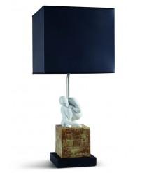 Lámpara de mesa de porcelana – Scientia – Lladró