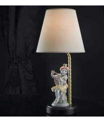 Lámpara de mesa de porcelana – Pequeño Krishna – Lladró