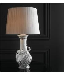 Lámpara de mesa de porcelana – Garzas – Lladró