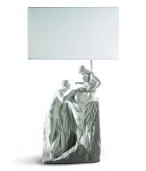 Lámpara de mesa de porcelana – Familia – Lladró