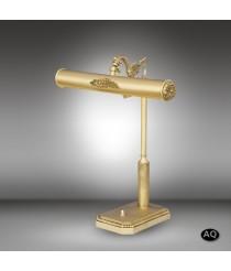 Lámpara de mesa clásica de escritorio con 2 acabados y 2 luces - Sobremesas 031S - Riperlamp