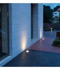 Empotrable de suelo para exterior IP67 LED 6000K – Glass Dopo – Novolux