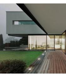 Outdoor recessed floor light – Glass Dopo – Novolux