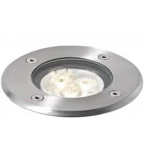 Empotrable de suelo de exterior de acero inoxidable LED 4000K – Bora - Dopo – Novolux