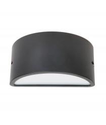 Aplique de pared y techo de exterior color antracita – Ciclon - Dopo – Novolux