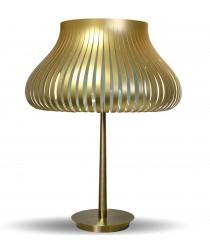 Lámpara de mesa en film pet en 2 colores 47 cm - Peggy - IDP Lampshades