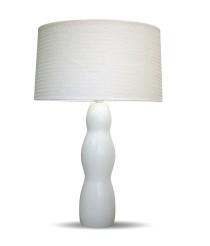 Lámpara de mesa de pvc y madera 60 cm - Hasir - IDP Lampshades