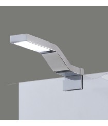 Aplique de pared LED de metal acabado en cromo para espejos IP 44 4200K – Bimba – ACB Iluminación