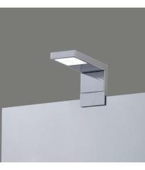 Aplique de pared LED de metal cromo para espejos del baño IP 44 – Nero – ACB Iluminación