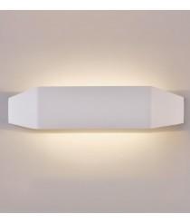 Aplique de pared LED de metal blanco en 2 tamaños 3200K – Emma – ACB Iluminación