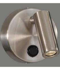 Aplique de pared LED de aluminio con foco basculante 3200K – Asen – ACB Iluminación