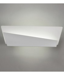 Aplique de pared LED de metal y cristal opal en 2 colores 3000K – Lola – ACB Iluminación