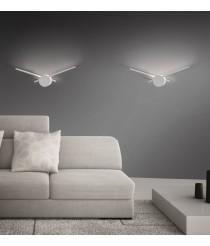 Aplique de pared LED de metal 3200K – Clock – ACB Iluminación