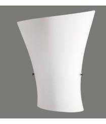 Lámpara de pared de cristal con doble capa – Ondas - ACB Iluminación