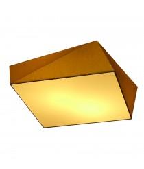 Plafón de techo poliédrico en material chins 46 cm - Origami - IDP Lampshades