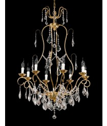 Bronze Chandelier 8 Lights