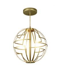 Lámpara colgante esférica LED en 2 tamaños 2700K – Malevich – MYO