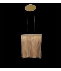 Lámpara colgante LED de metal acabada en oro 2800K – Sicilia – MYO