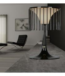 Lámpara de mesa de cristal en 2 acabados – Cage – MYO