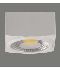 Aplique de techo LED de aluminio en 2 tamaños y 2 acabados 3200K - Atrezzo - ACB Iluminación