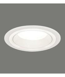 Lámpara empotrable LED de acrílico blanco Ø 16 cm 4000K – Shiro – ACB Iluminación