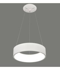 Lámpara colgante circular LED de metal y acrílico 3200K – Dilga – ACB Iluminación