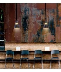 Lámpara de techo vintage de metal óxido con 2 tamaños - Industrial - Mantra