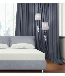 Lámpara colgante de metal en 2 acabados de 1 luz - Tiffany - Mantra