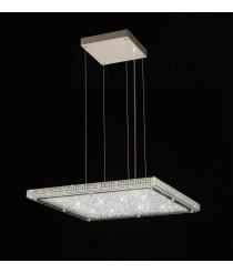 Crystal Lámpara Led Cromo