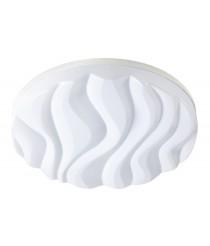 Aplique de techo LED de metal acabado blanco en 2 tamaños 3000K - Arena - Mantra