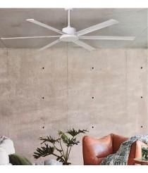 Silencioso ventilador de techo modo verano/invierno con mando a distancia - Miller - Massmi